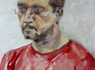 oil portrait man