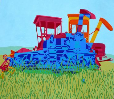 Combine Harvester - Gabrielle de Glatigny